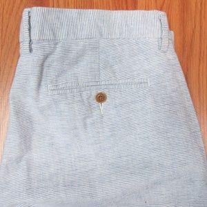 34x32- J.CREW SLIM FIT BEDFORD Mens LINEN PANTS